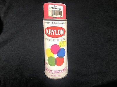 VINTAGE KRYLON T-SHIRT HOT PINK OLD SCHOOL KRYLON PUSSY PINK GILDAN (Old School Vintage T-shirt)