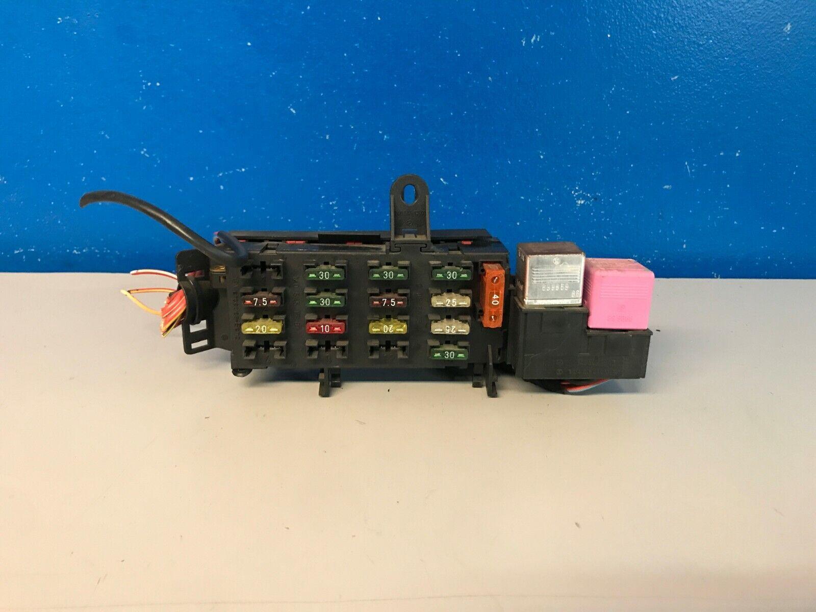 Mercede S420 Fuse Box - 88 Wiring Diagram