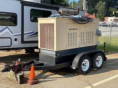 125 Kva Trailer Mounted Generac Diesel Generator With Fuel Tank