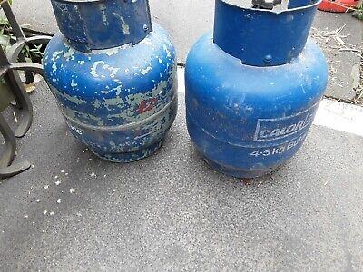 Calor gas 4.5kg x 2/caravan/camping.