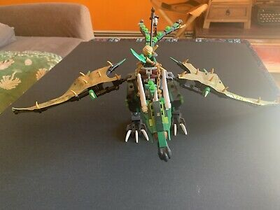 Retired Lego Ninjago Set 70593 The Green NRG Dragon used