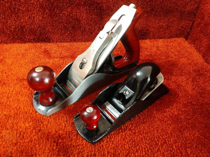 Dunlap Hand Plane Package,110 Style Block Plane & No 3 (TUNED UP) MUST SEE VIDEO