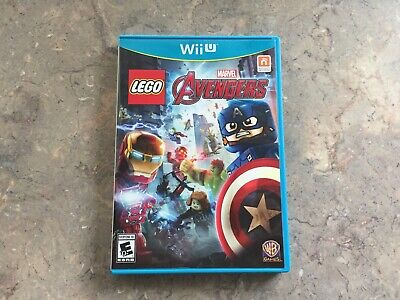LEGO Marvel's Avengers (Nintendo Wii U, 2016)