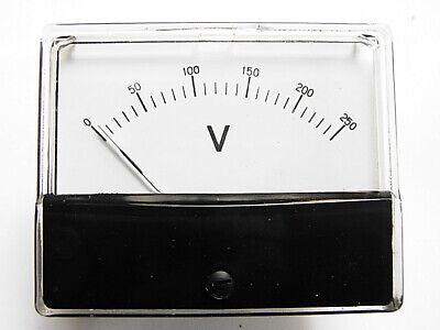 Us Stock 69l6 Ac 0 250v Analog Volt Panel Meter High Quality