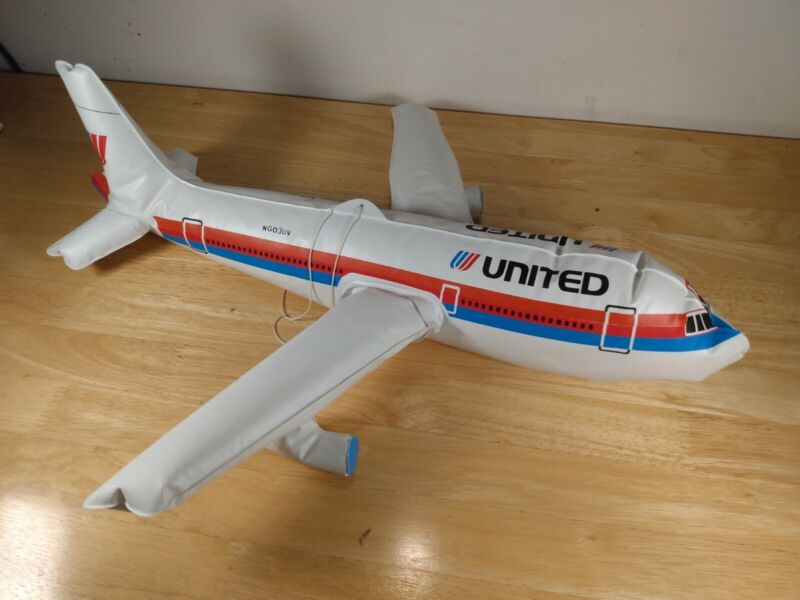 United Airlines Inflatable Airplane