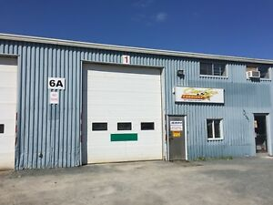 Garage for lease truck shop and truck yard