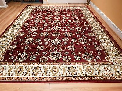 Large Traditional 8x11 Oriental Area Rug Area Rugs 5x8 Carpet 2x3 Living Room ()