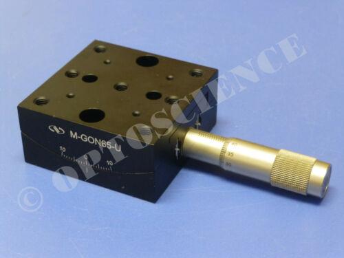 Newport M-GON65-U Goniometric Stage / Upper Goniometer, SM-25 Micrometer, Metric