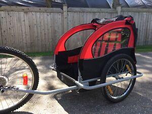 Aosom bike trailer, 2 seater