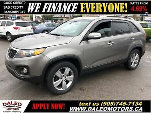 2013 Kia Sorento EX| AWD| LEATHER| BACKUP CAM