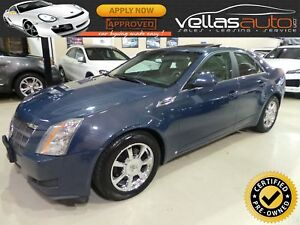 2009 Cadillac CTS AWD| 3.6L| PANORAMIC ROOF| LEATHER