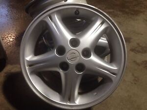 """Roues / mags Nissan 16"""" 5x114.3"""