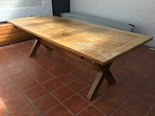 Beautiful country dining table Bilgola Pittwater Area Preview