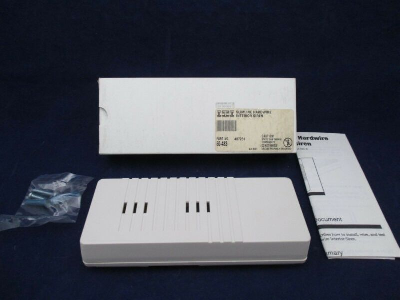 ITI Slimline Hardware Interior Siren 60-483 new