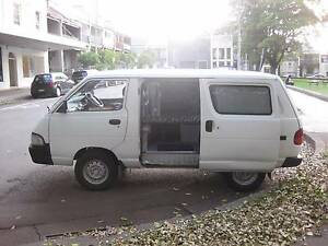 Campervan  Toyota Townace aircon rego new carpet & curtains, 240v Camperdown Inner Sydney Preview