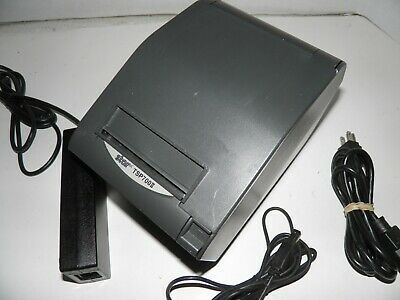 Star Tsp700ii 743iiu Thermal Pos Receipt Printer Usb W Power Supply Usb Cable