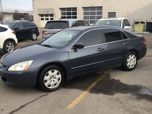 2004 Accord V6 EX safety included