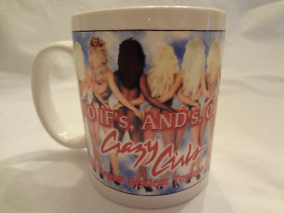 VINTAGE Riviera Hotel Casino Las Vegas Coffee Mug No If's And's Or Crazy Girls