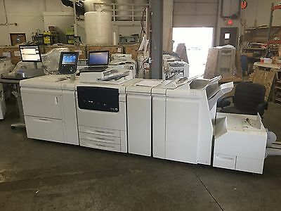 Xerox Color C75 W Ohc Booklet Makersquarefoldbustle Fiery Low Meter 346k
