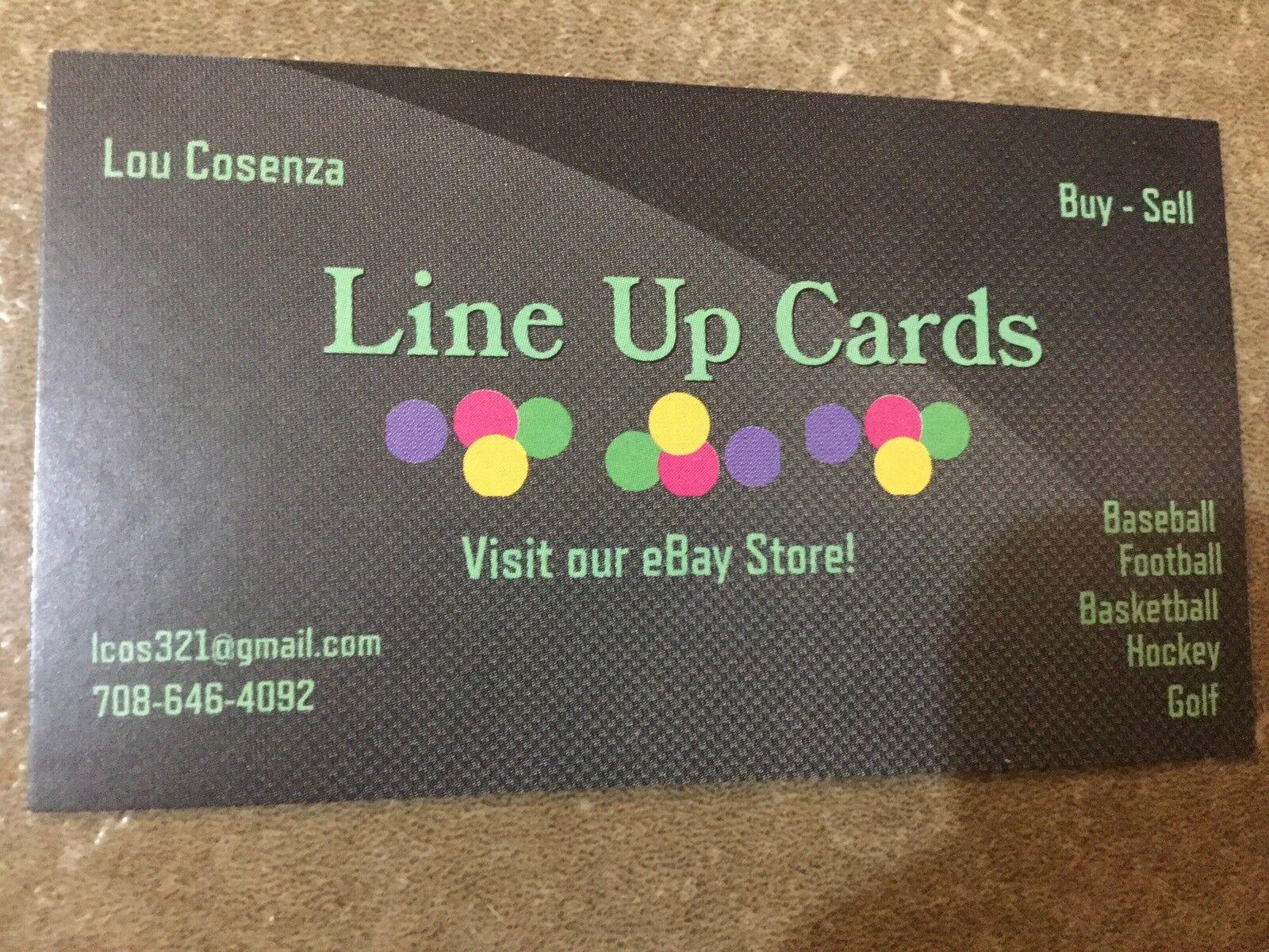 Lineup Cards