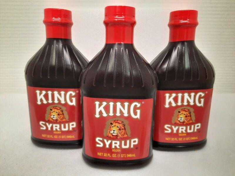 Kings Syrup Golden, 3 Bottles, 32oz