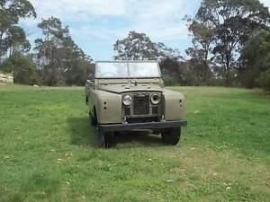 Land Rover Series II 1959 Maraylya The Hills District Preview