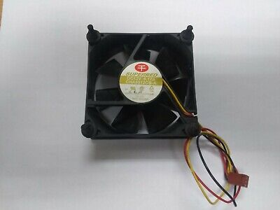 Cheng Home Superred CHA8012CB-A IBM 25P5166 Server Fan 3-Pin / Wire 12 VDC 0.17A