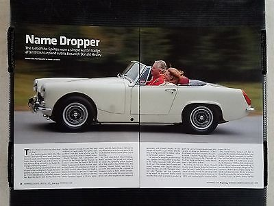 "Austin-Healey 3000 ""Big Healey""  - 4 Page Article - Free Shipping"