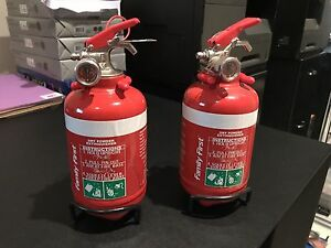 Fire extinguisher small for cars or campers Clear Island Waters Gold Coast City Preview