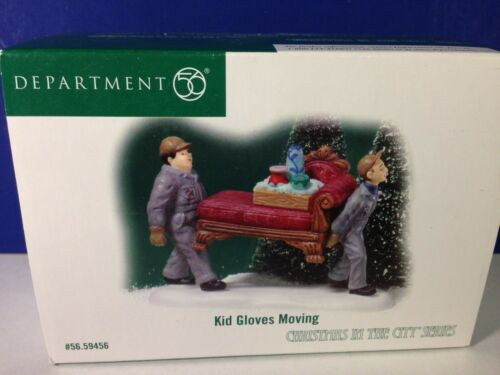 Dept 56 CIC Christmas in the City KID GLOVES MOVING 56.59456 Brand New!