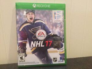 JEU VIDÉO NHL 17 pour XBOX ONE