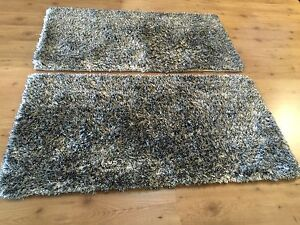 Shag Pile Rugs (priced as pair) Mullaloo Joondalup Area Preview