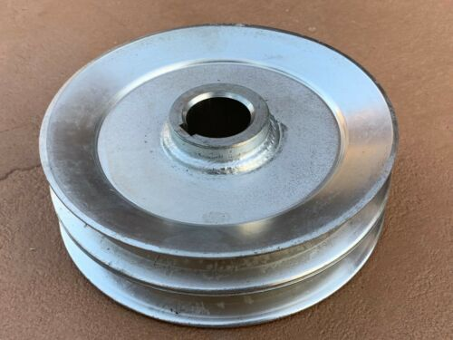 Caroni Finish Mower TC590N, TC710N 135mm Double belt Pulley w/ 25mm bore