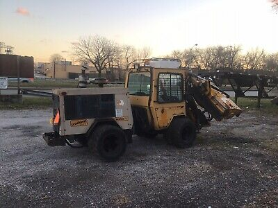 1998 Trackless Mt Series V Cummins Diesel With Flail Boom Mower