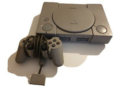 Sony Playstation 1 Console, Tested &  Dualshock Official Controller