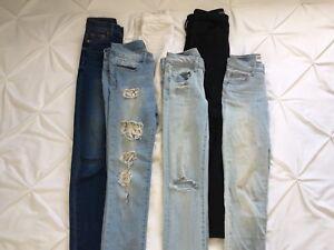 NEED GONE! 00 garage/America eagle jeans