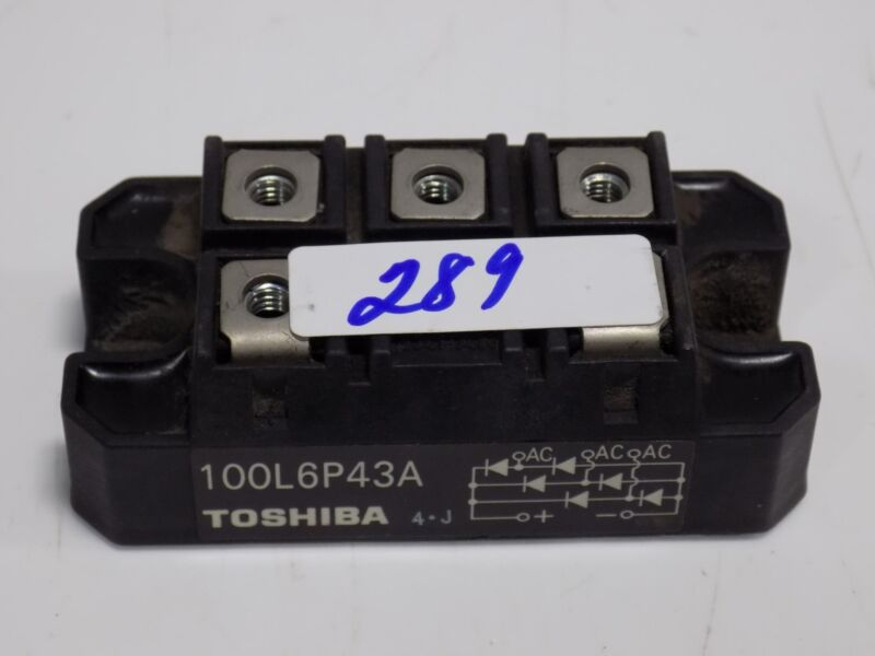 TOSHIBA BRIDGE RECTIFIER  100L6P43A
