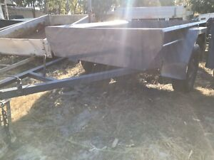 Unlicensed 6x4 trailer in great condition all around