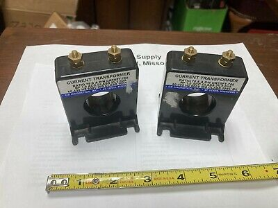 Lot Os 2 Cr Magnetics Cr2sft-750 Current Transformers New-old-stock