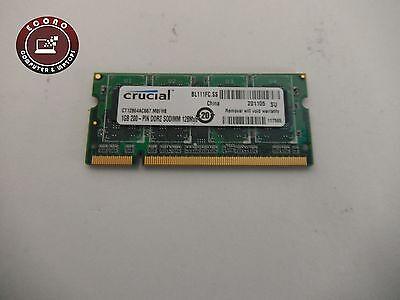 Compaq Presario C500 Ram - Compaq Presario C500 CRUCIAL 1GB 200-PIN DDR2 128Mx6 RAM Memory CT12864AC667
