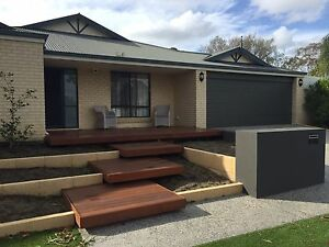 BackYard Timber landscaping Mirrabooka Stirling Area Preview