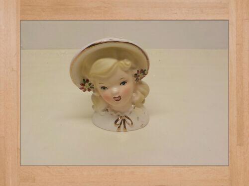"""Lady Head Vase Inarco   E- 1247 1964   Vintage Planter  inarco 4 """""""