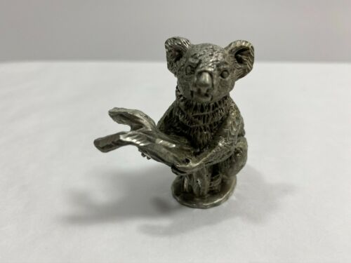 Vintage MWFP pewter 1991 Koala bear