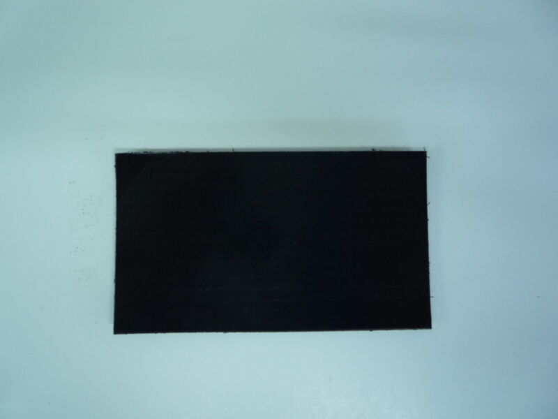 "IR MAGIC BLACK PATCH BLANK MATT 3.5""X2"" REJECT#232 WITH VELCRO® BRAND FASTENER"