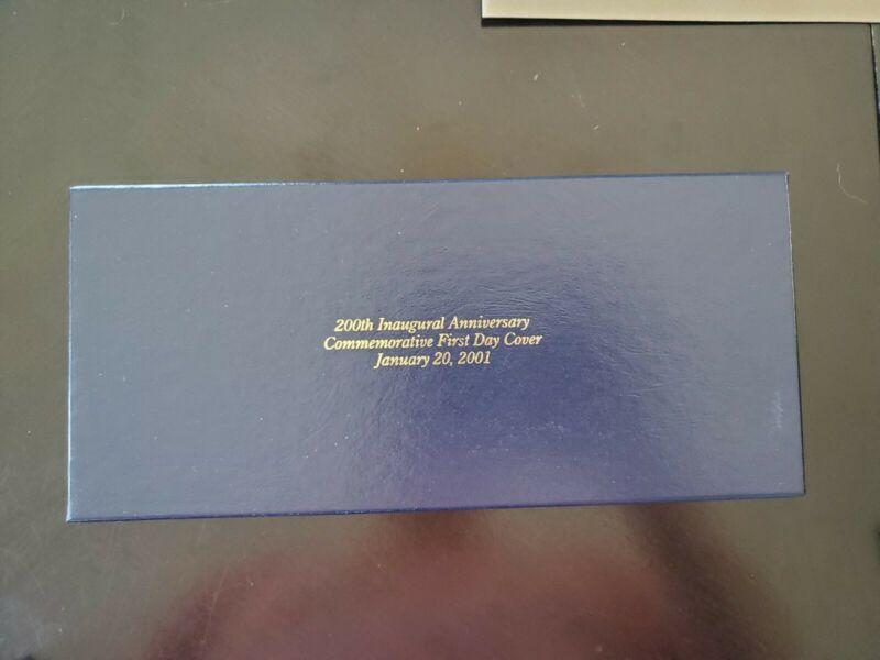 George W. Bush 1st Term Inaugural Cover w/ 200th Anniversary In Box LE - QTY