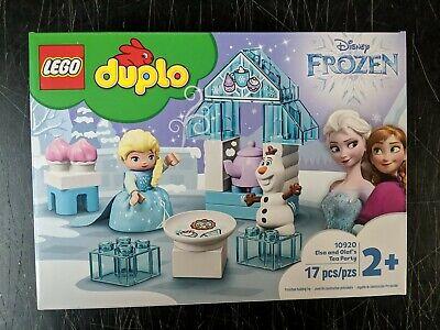 LEGO Duplo Disney Frozen Elsa and Olaf's Tea Party Set 10920 NEW IN BOX