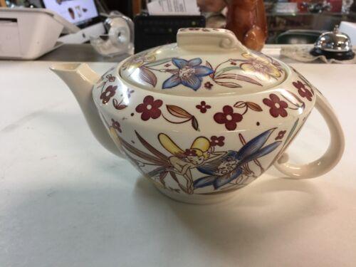 Ultra Rare Walt Disney Fantasia Flower Ballet Teapot by Vernon Kilns 1940