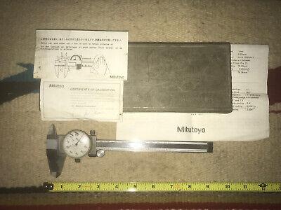 6 Inch Mitutoyo Dial Caliper Model 505-637-50