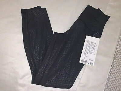 Lululemon  Asia Fit Gym Leggings Tights Black Size Small Align 7/8 Pant Asia