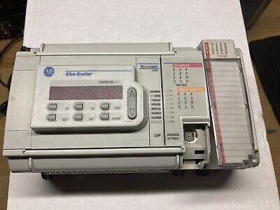 Allen Bradley 1764-24awa 1764-lsp Dat 1769-ecr Io Micrologix 1500 Controller